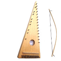 original model-bowed psaltery
