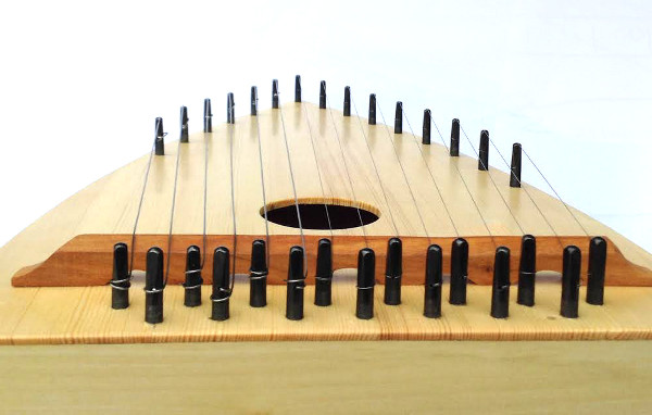 psaltery diatonic end