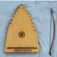 my model-bowed psaltery