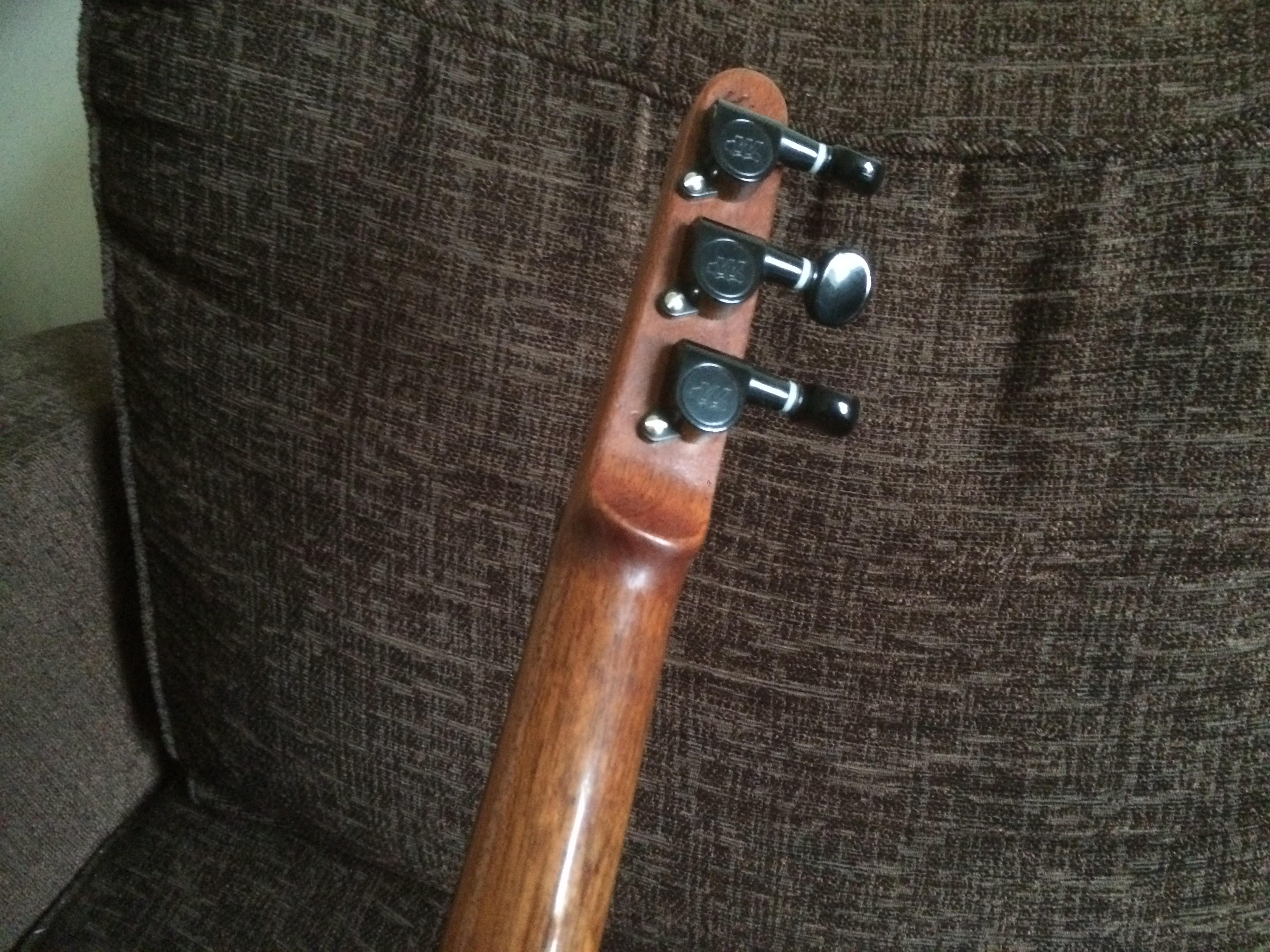 stick dulcimer neck