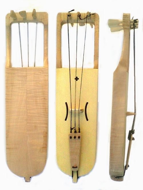 new bowed lyre